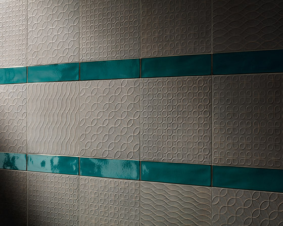 Karman Ceramica Decorata Avorio by EMILGROUP