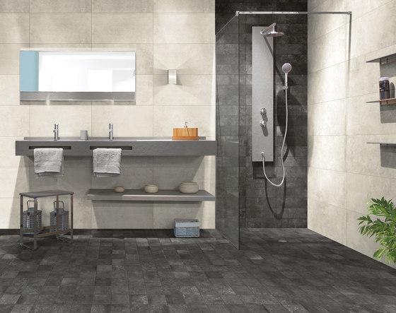 Bibulca | Esagona Grey 21x18 cm von IMSO Ceramiche