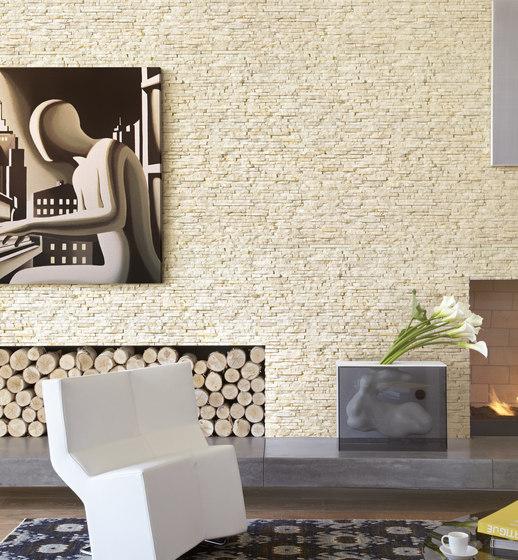 Pietre Da Rivestimento | Spaccatello Beige 10x35 cm by IMSO Ceramiche