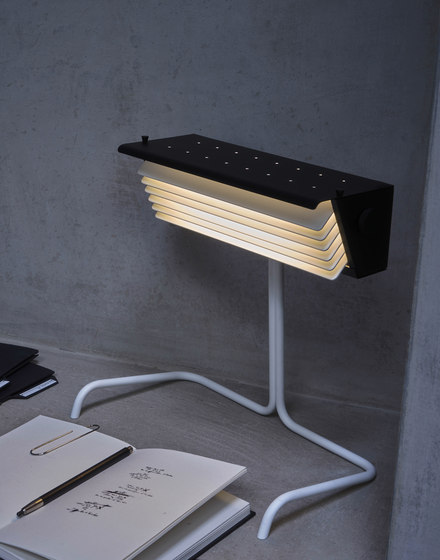 BINY | SPOT - LED nickel/black by DCW éditions