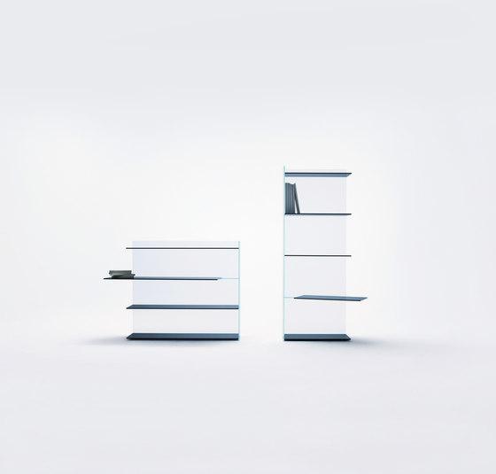 Slide Librerie di Glas Italia