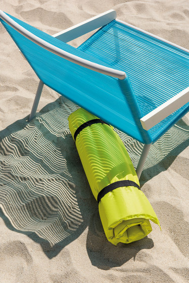 Allaperto Camping chic Sunbed with Mattress de Ethimo