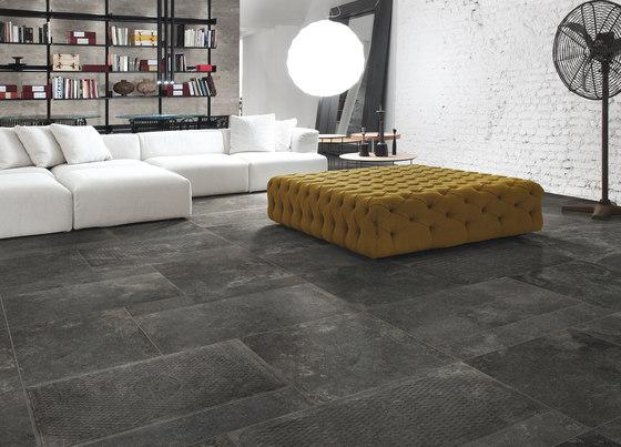 Italghisa | Impronte Antracite 45x90 cm by IMSO Ceramiche