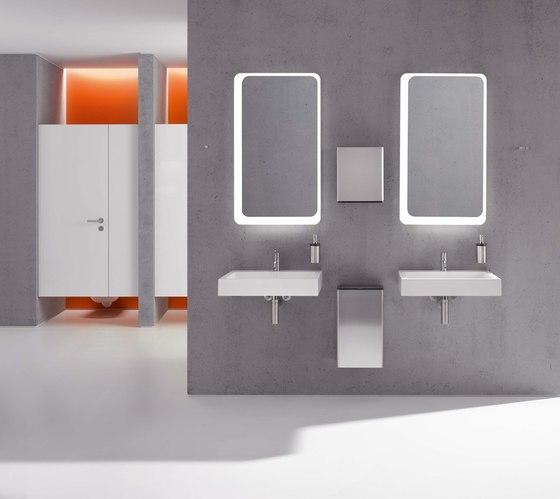 Soap dispenser with holder | 162.06.110540 de HEWI