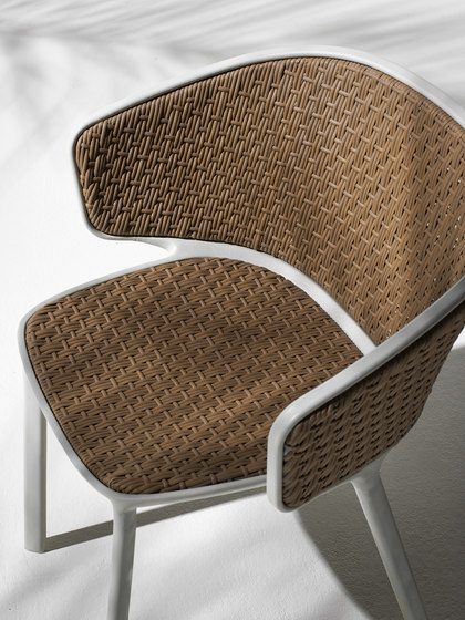Pluvia Dining armchair by Ethimo