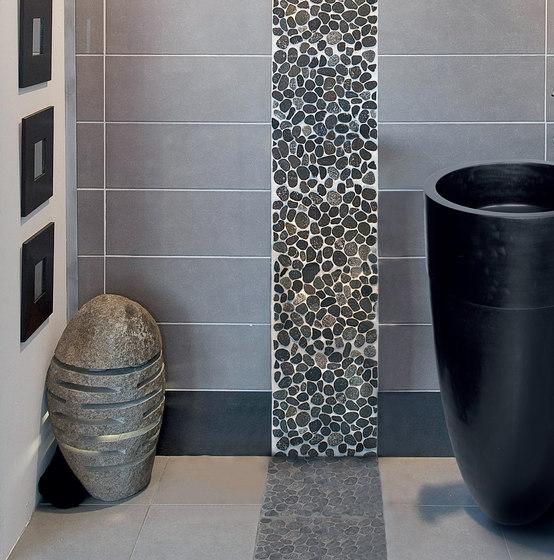 Sassi | River White 30x30 cm di IMSO Ceramiche
