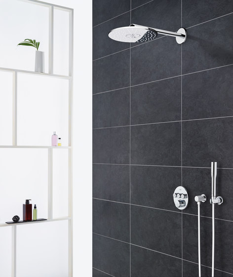 Rainshower 310 SmartActive Cube Head shower set 430 mm, 2 sprays by GROHE