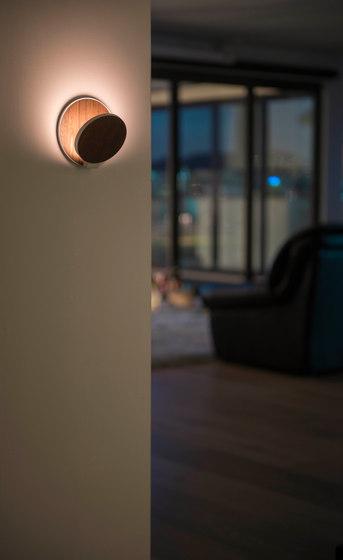 Gravy LED Wall Sconce - Matte White di Koncept