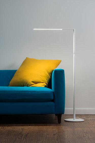 Lady7 LED Floor Lamp - Matte White von Koncept