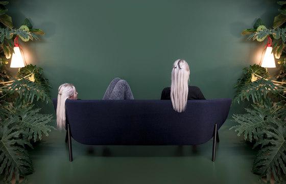 Tuile 2-seat sofa de Kristalia