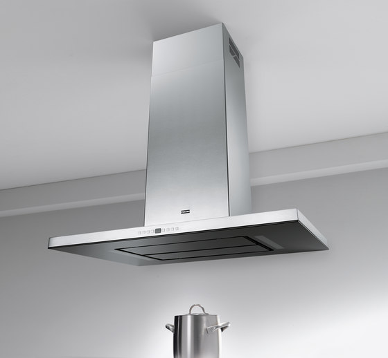 Maris T-Shape Hood FGB 906 IS AC Stainless Steel-Glass Black by Franke Home Solutions