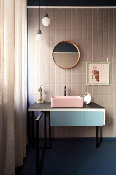 Interni Bisello Rosa by Ceramica Vogue