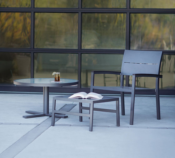DUO MESH COUNTER STOOL by JANUS et Cie