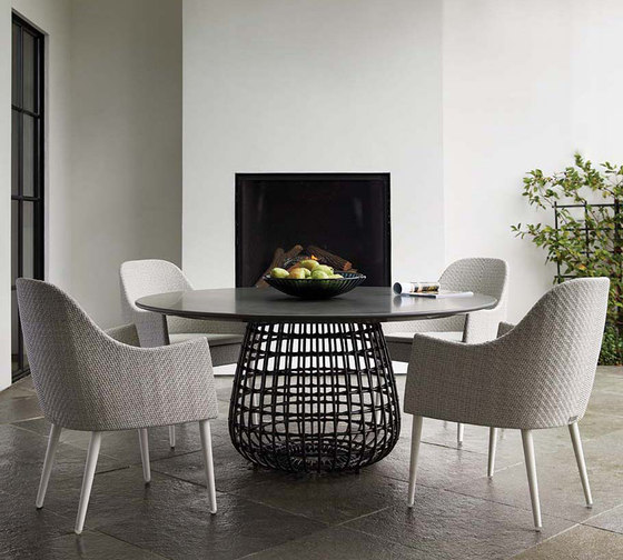 VINO DINING TABLE ROUND 160 by JANUS et Cie