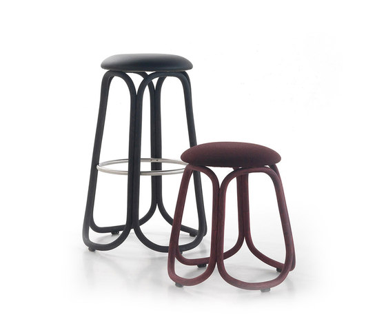 Gres low barstool by Expormim