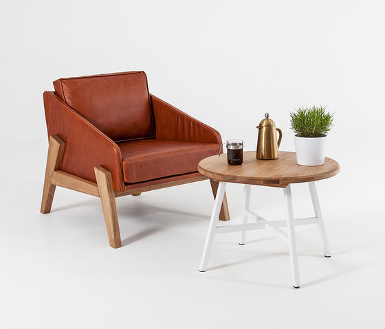 Cooper | Tub Chair Leather von Liqui Contracts