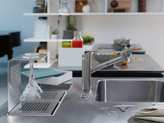 Creative Stainless Steel Worktop Prep Module di Franke Kitchen Systems