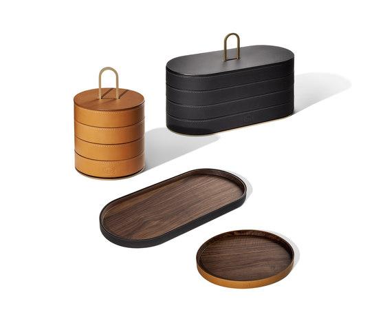 Gli Oggetti | Leather Case von Poltrona Frau