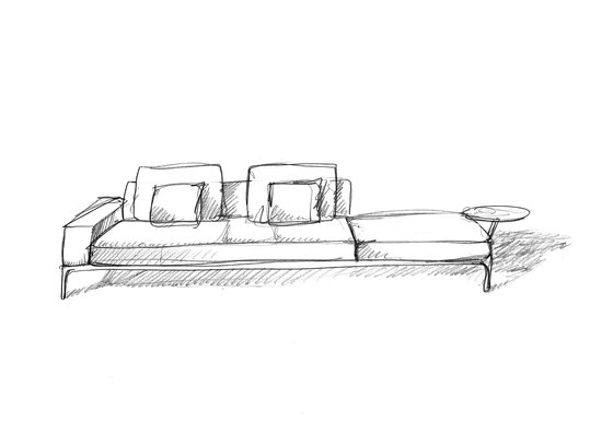 Aluzen Bench 160X95 P07 by Alias