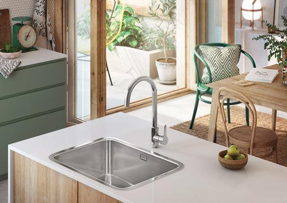Mencia   Kitchen sink mixer by ROCA