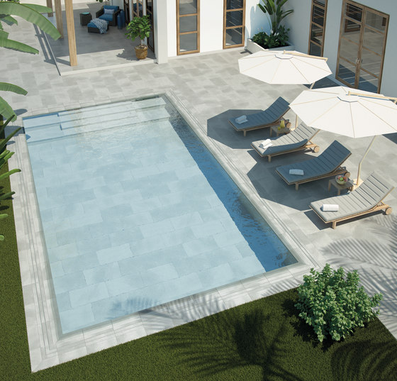 Pool Solutions Sill & Step de Ceramica Mayor
