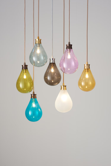 Cintola Pendant satin bronze by Tom Kirk Lighting
