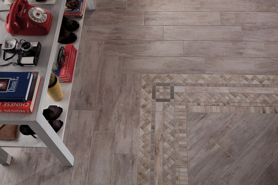 Metalwood Beige | Inserto by Rondine