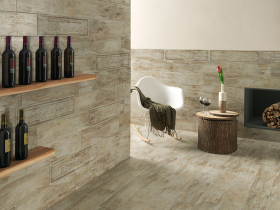 Metalwood Beige | Wine Mix de Rondine