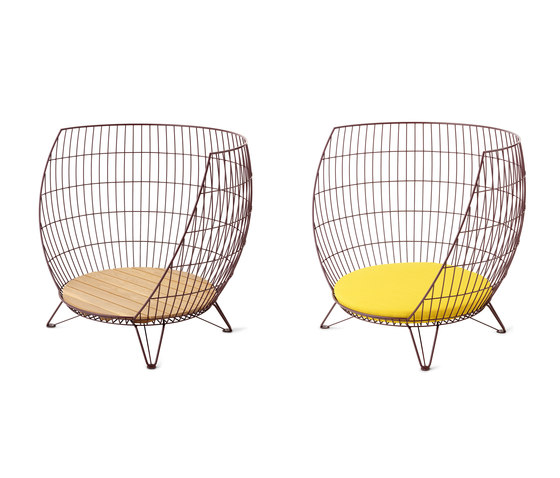 Basket armchair / Small di nola