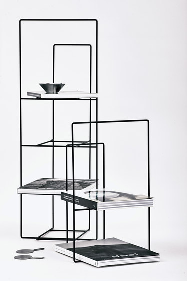 Rewire Magazine Rack Big Black by tre product