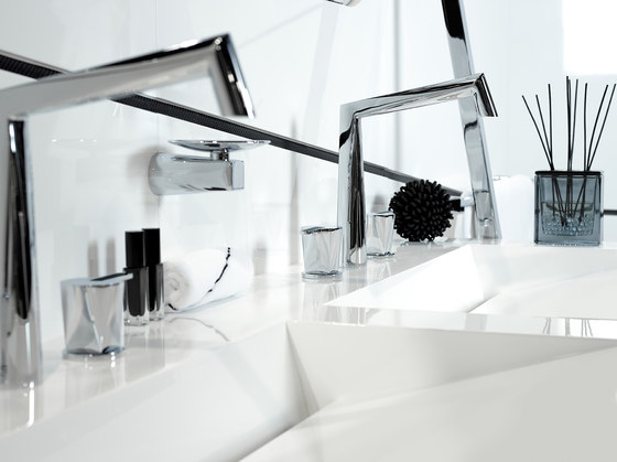 Métamorphose | Rim mounted 3-hole basin mixer de THG Paris