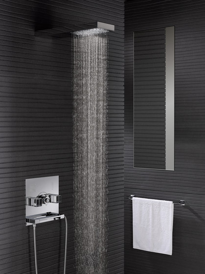 So | Thermostatic shower mixer trim by THG Paris