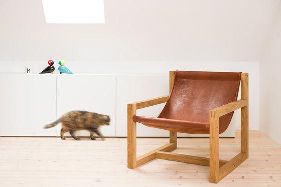 Lounger M1 | Organic Buffalo Leather di Manufakturplus