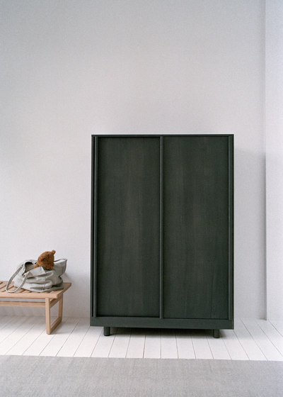 Wardrobe with Sliding Doors Forest Green by Bautier