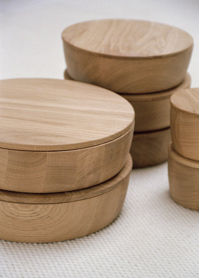 Wood Container Large by Bautier