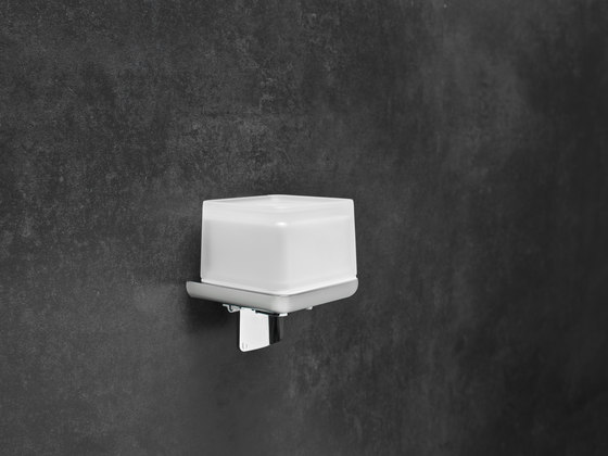 Liv toilet paper holder and wet wipes/utensils box by Bodenschatz