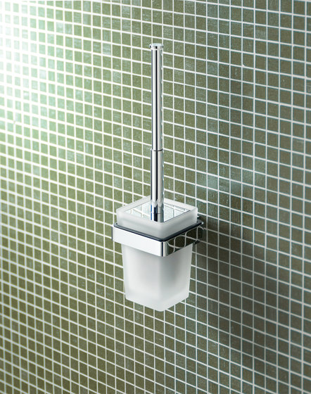 Simara Toilet paper holder with lid by Bodenschatz
