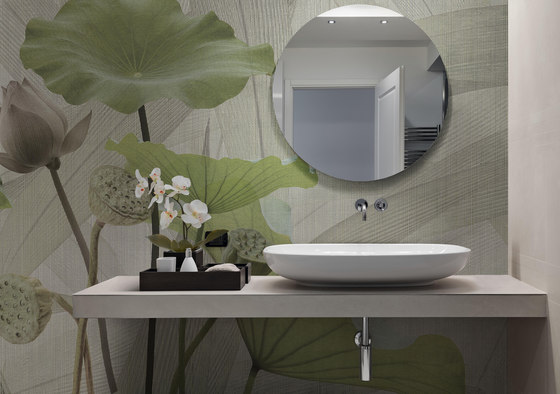textile | white lotus by N.O.W. Edizioni