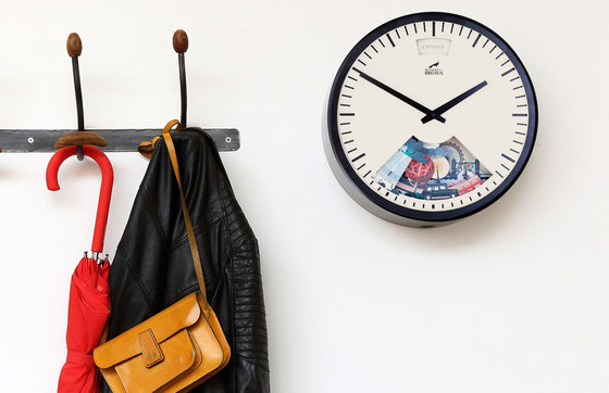 Limited Edition Into The Wild Weather Clock by Bramwell Brown Clocks