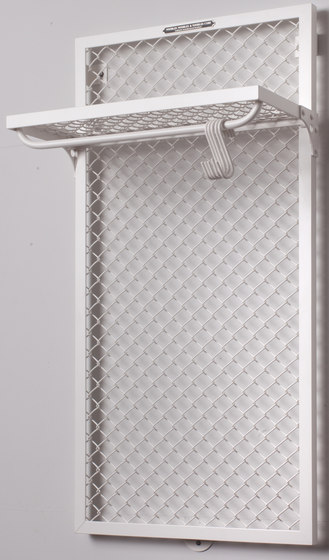 WALL MOUNTED COAT RACK MESH by Noodles Noodles & Noodles