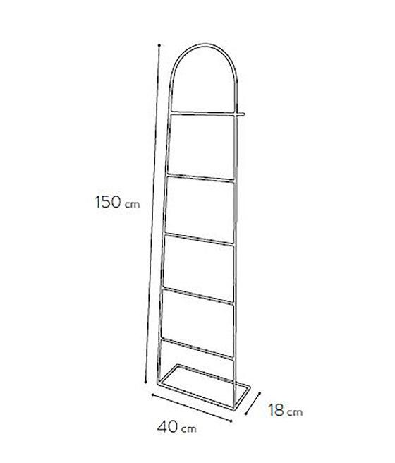 Aubin ladder, black by Hartô