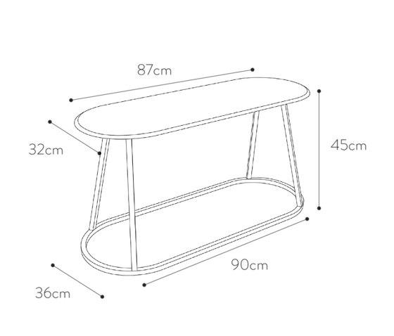Bar stool Grand Gustave oak H77, slate grey by Hartô
