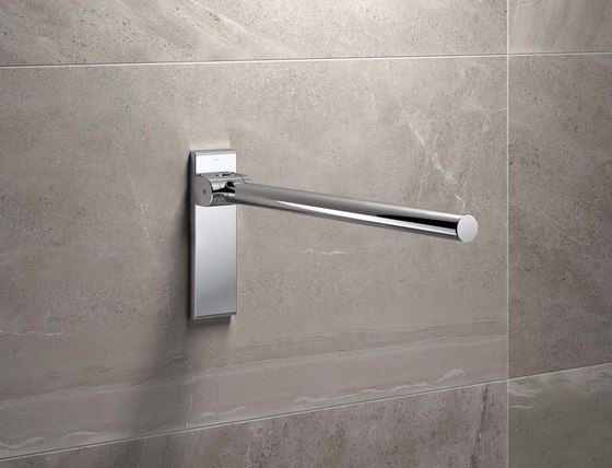 Shower curtain rail  chrome | 900.34.30240 di HEWI