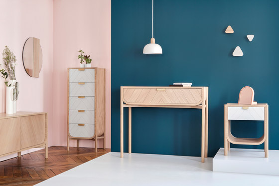 Sideboard Marius 155cm, natural oak by Hartô