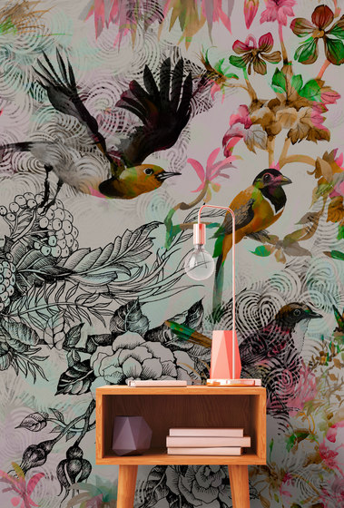 Walls By Patel | Funky Birds 1 di Architects Paper