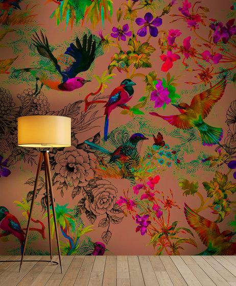 Walls By Patel | Wallpaper Funky Birds 1 de Architects Paper