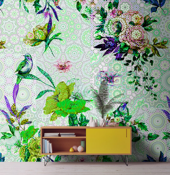 Walls By Patel | Wallpaper Mosaic Garden 2 de Architects Paper