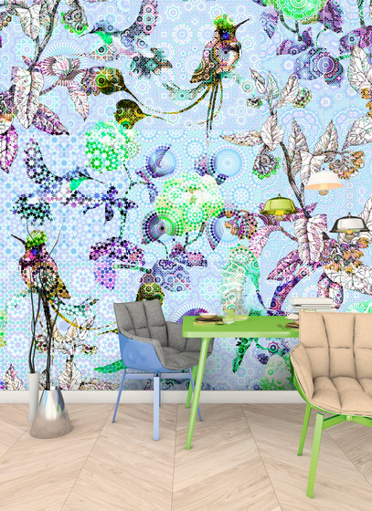 Walls By Patel | Wallpaper Exotic Mosaic 4 di Architects Paper