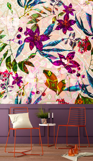 Walls By Patel | Wallpaper Mosaic Blossom 2 de Architects Paper