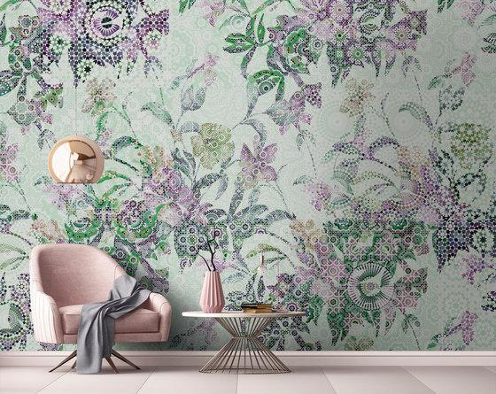 Walls By Patel| Wallpaper Mosaic Leaves 1 de Architects Paper
